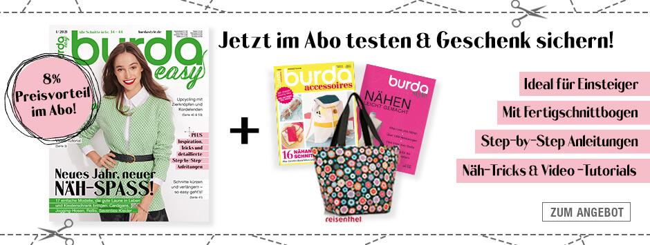 burda easy - Jahresabo + Prämien + Vorteile