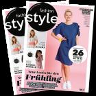2 kostenlose Ausgaben fashion style