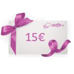 15 € Stoffe.de Gutschein