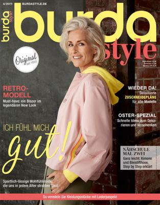 burda style - aktuelle Ausgabe 04/2019
