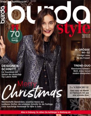 burda style - aktuelle Ausgabe 12/2020