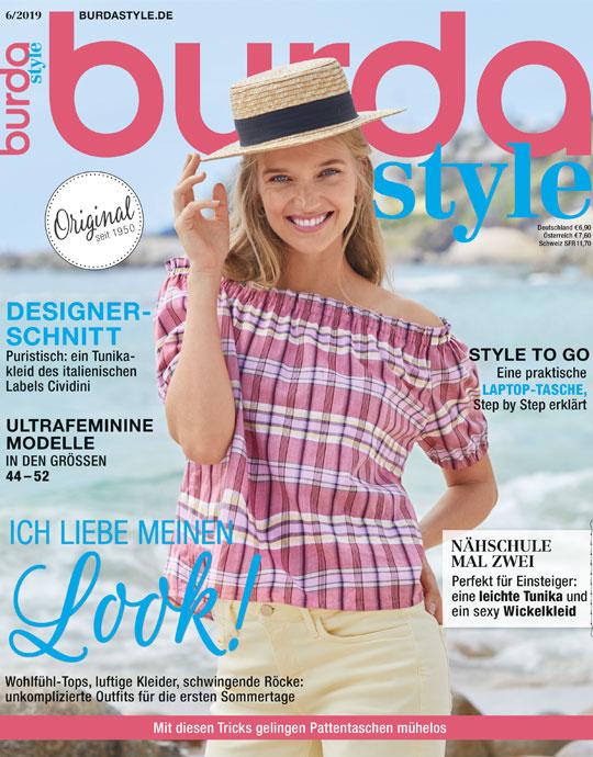 burda style - aktuelle Ausgabe 06/2019
