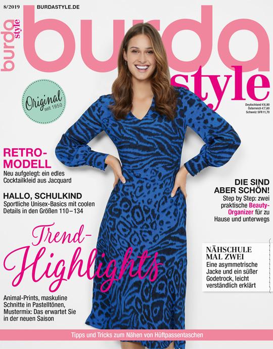 burda style - aktuelle Ausgabe 08/2019