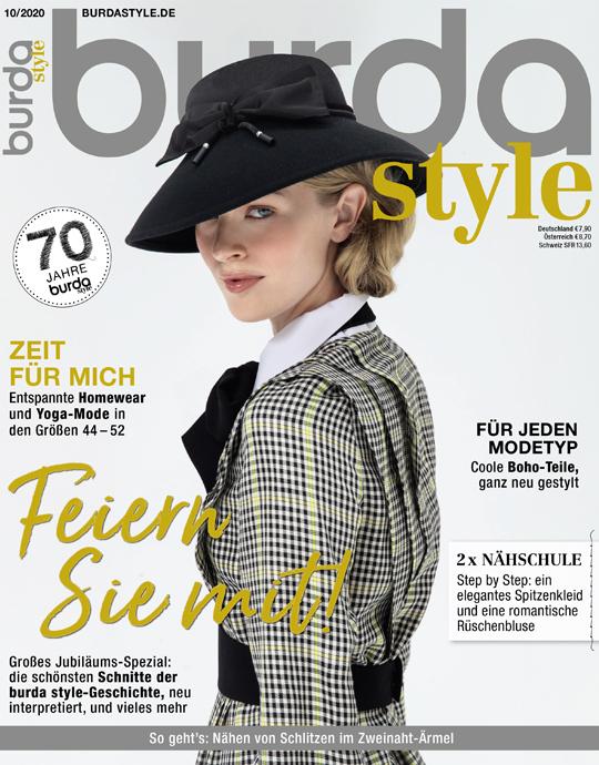 burda style - aktuelle Ausgabe 10/2020