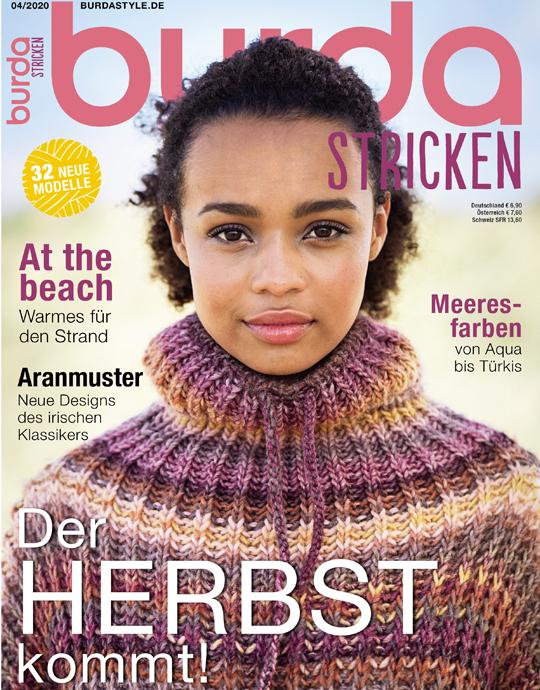 burda stricken - Aktuelle Ausgabe 04/2020